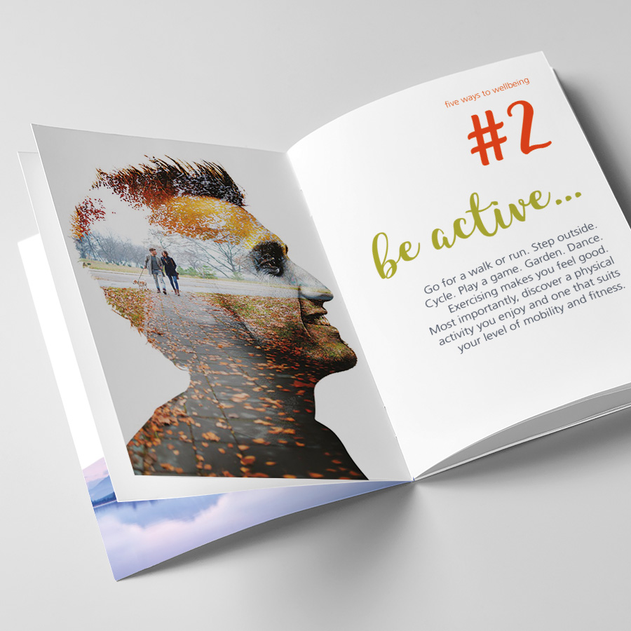 Greater Manchester Mental Health Recovery Book by Cube Creative