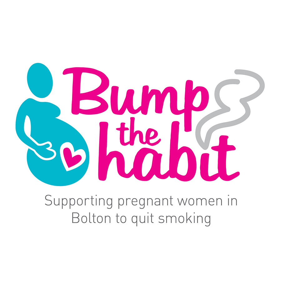 NHS Bolton Bump the habit Branding by Cube Creative