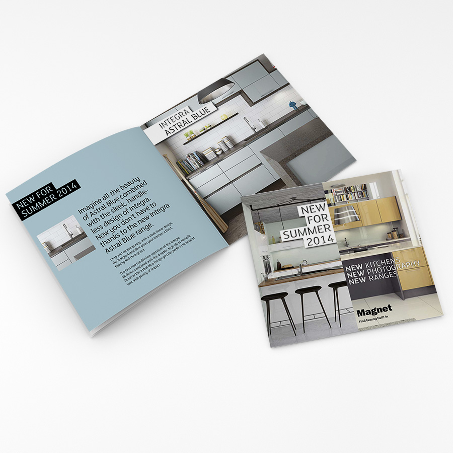 Magnet Kitchens Brochure Design by Cube Creative