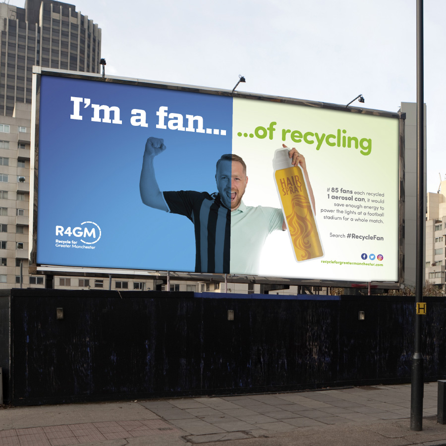 R4GM - Sports Recycling Campaign